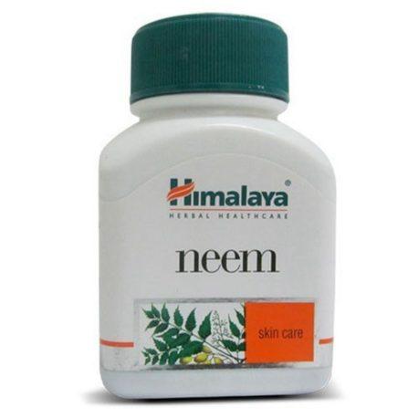 Ним Хималая (Neem) - Очиститель от паразитов, 60 капсул.