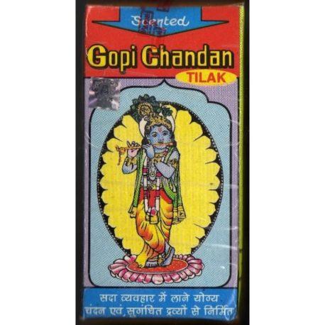 Гопичандана (gopichandan) в коробочке, большая, ароматизированная