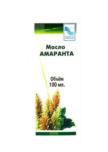 Масло амаранта, Секреты природы, 100 мл