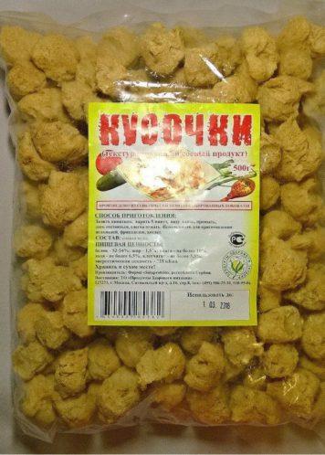 Соевые кусочки, 500 грамм