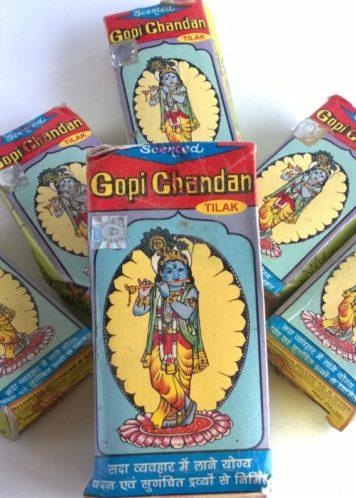 Гопичандана (gopichandana, глина для тилака) маленькая